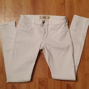 BNWOT HOLLISTER White Jeans Size 26 X 31 3R